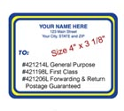 Popular Mailing Labels in Rolls